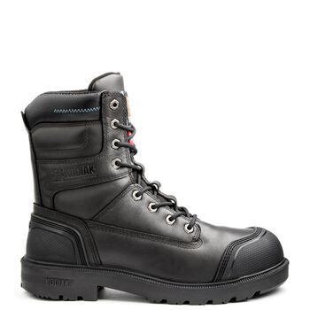 Men's Kodiak Blue Plus Aluminum Toe 8-Inch Work Boot - Black