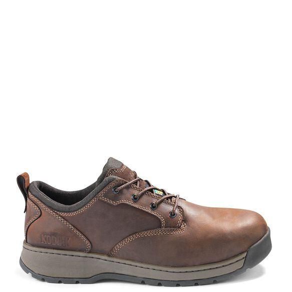 Men's Kodiak Montario Aluminum Toe Work Shoe - Brown