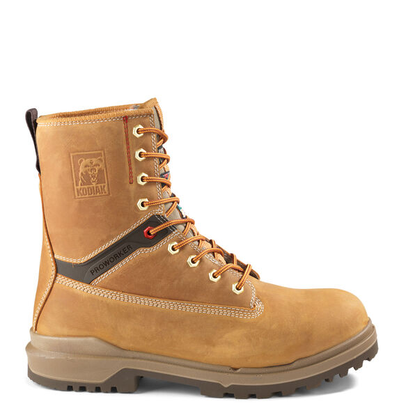 Men's Kodiak ProWorker® Master 8-Inch Composite Toe Work Boot - Wheat
