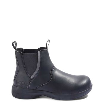 Women's Kodiak Flex Maberly Steel Toe Chelsea Work Boot - Black