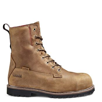 Men's Kodiak McKinney 8-Inch Composite Toe Work Boot - Brown