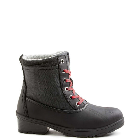 Women's Kodiak Iscenty Arctic Grip Winter Boot - Black