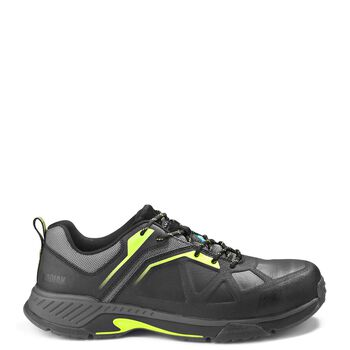 Men's Kodiak LKT1 Composite Toe Hiker Work Shoe - Black/Lime