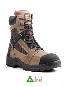 Men's Kodiak Rebel Steel Toe 8 Inch Work Boots -