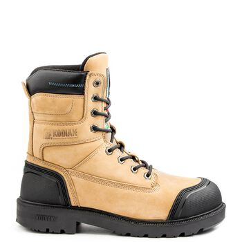 Men's Kodiak Blue Plus Aluminum Toe 8-Inch Work Boot - Taupe