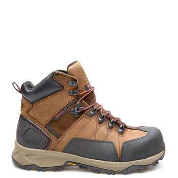 "Men's Kodiak Ice Conqueror 6"" Arctic Grip Work Boot - Brown"