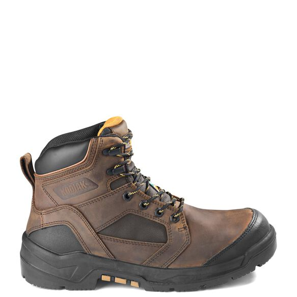 Men's Kodiak Axton Composite Toe 6-Inch Work Boots - Brown
