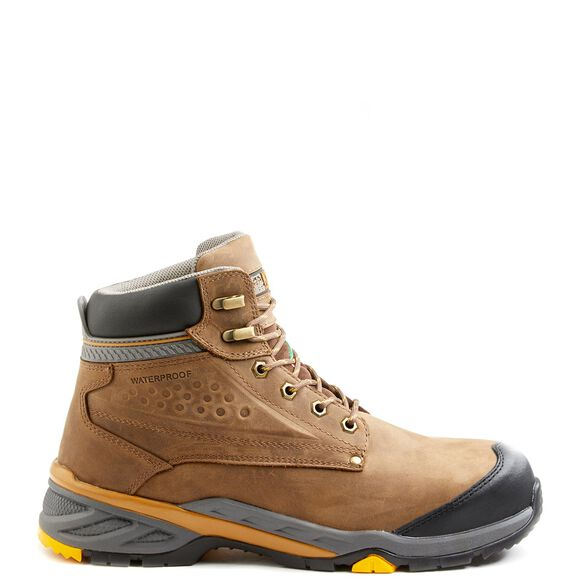 Men's Kodiak Crusade 6-Inch Composite Toe Hiker Work Shoe - Brown