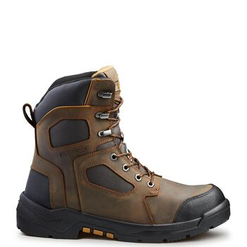 Men's Kodiak Axton Composite Toe 8 Inch Work Boots - Brown