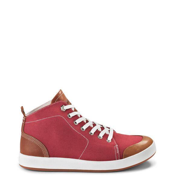 Women's Kodiak Georgian Mid-Cut Sneaker - Red