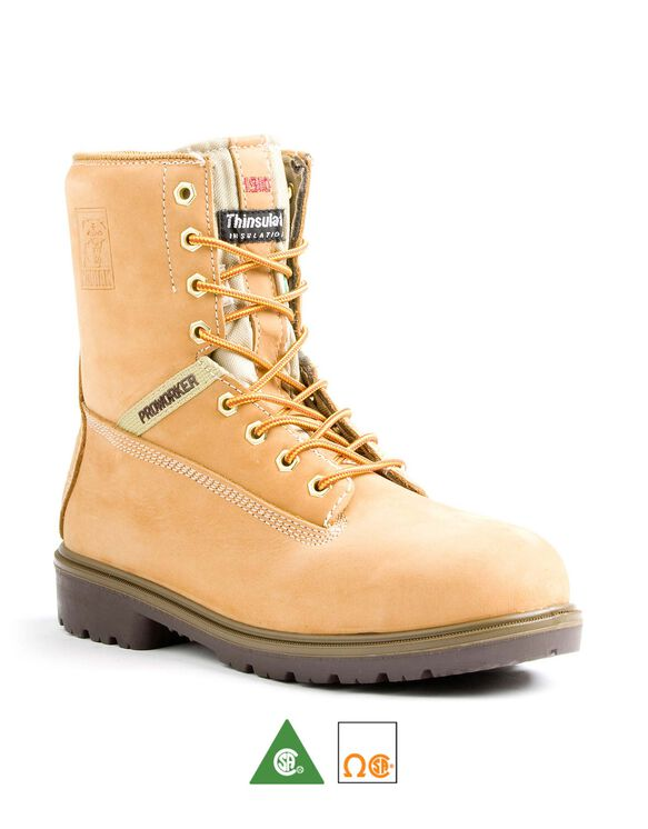 Men's Kodiak Proworker™ Steel Toe 8 Inch Work Boot - Wheat