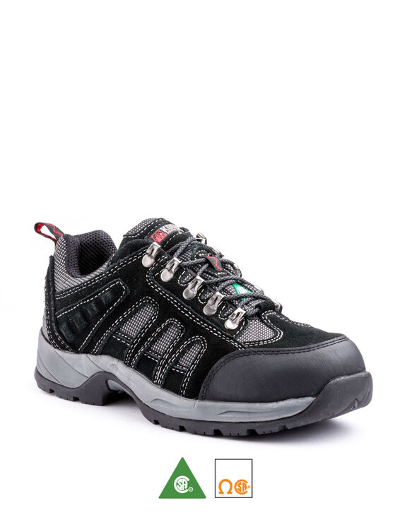 Men's Kodiak Stamina Steel Toe Hiker Work Shoe - Black