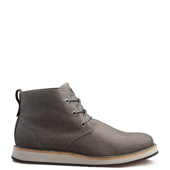 Men's Kodiak Chase (Waxed Canvas) Water Resistant Chukka Boot - Grey