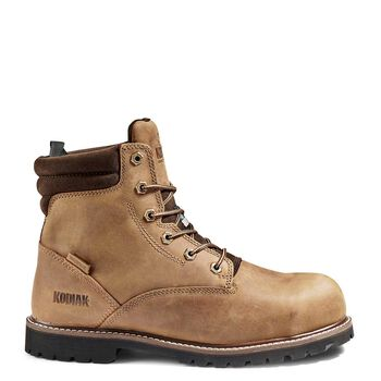 Men's Kodiak McKinney 6-Inch Composite Toe Work Boot - Brown