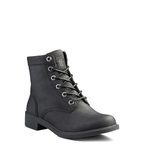 Women's Kodiak Original All Season Waterproof Ankle Boot - Black Matte