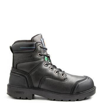 Men's Kodiak Blue Plus Aluminum Toe 6-Inch Work Boot - Black