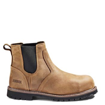 Men's Kodiak McKinney Composite Toe Chelsea Work Boot - Brown