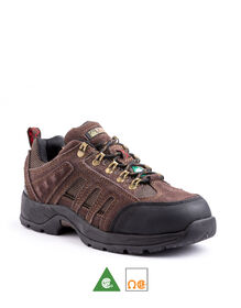 Men's Kodiak Stamina Steel Toe Hiker Work Shoe - Brown