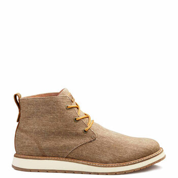 Men's Kodiak Chase (Waxed Canvas) Water Resistant Chukka Boot - Gold