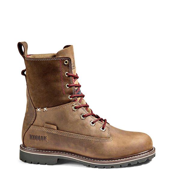 Women's Kodiak Bralorne 8-Inch Waterproof Boot - Brown
