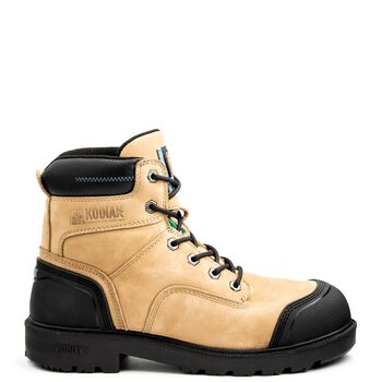 Men's Kodiak Blue Plus Aluminum Toe 6-Inch Work Boot - Taupe