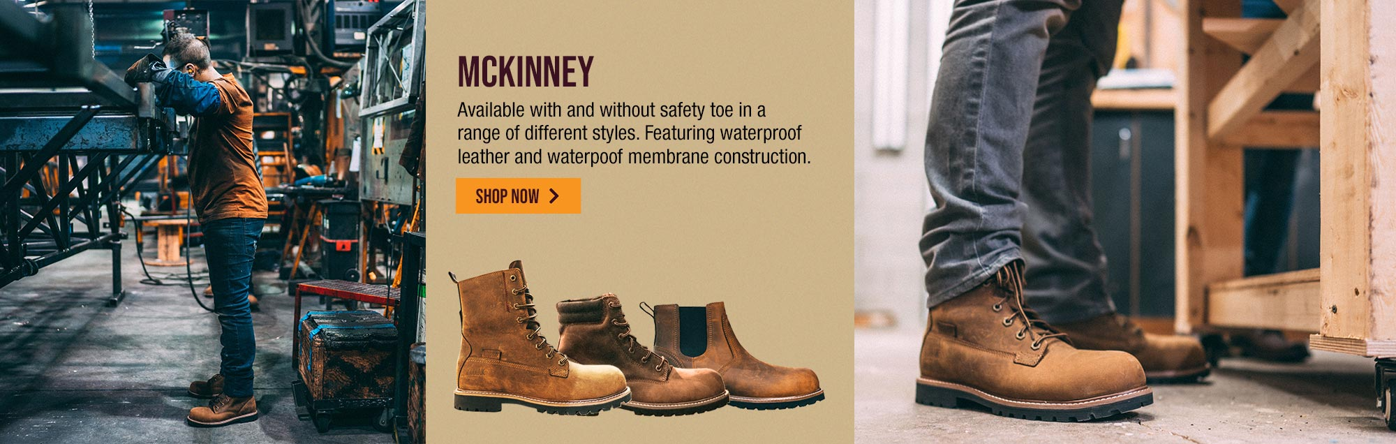 Generations Men's Work Safety Toe Boots