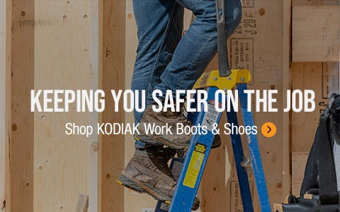 Shop Kodiak work boots and shoes