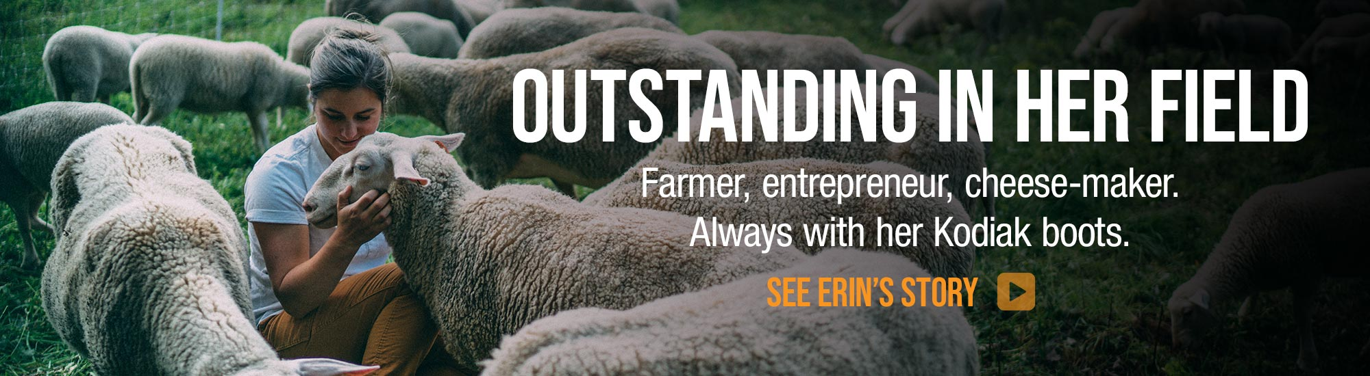 See Erin's Story: A farmer and her Kodiak Boots